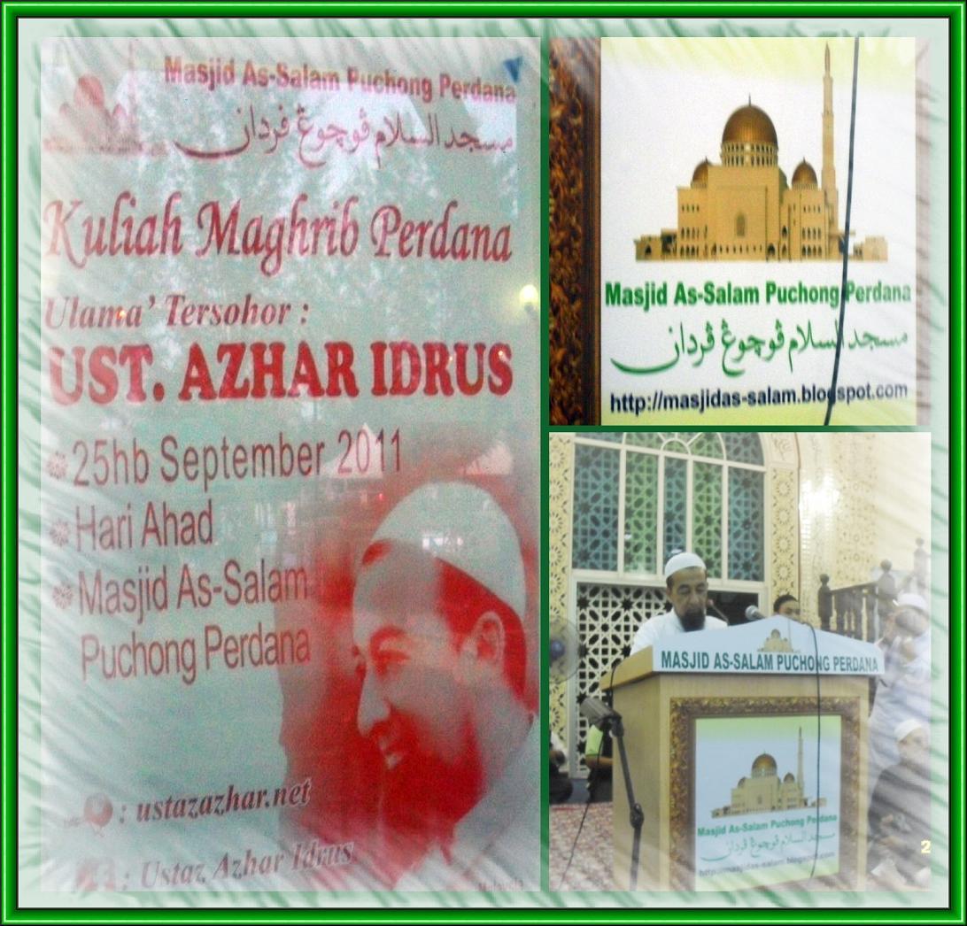 Ustaz Azhar Idrus www.mymaktabaty.com